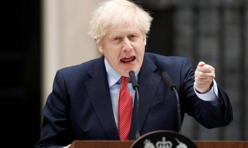UK is past the peak, says PM Johnson, promising lockdown exit plan