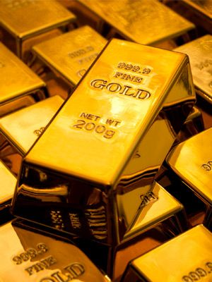 Gold Down, as Mixed Economic Data Takes Shine off Yellow Metal